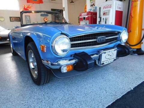 1974 Triumph TR6 for sale at Milpas Motors in Santa Barbara CA