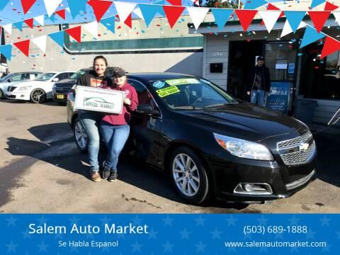 2013 Chevrolet Malibu for sale at Salem Auto Market in Salem OR