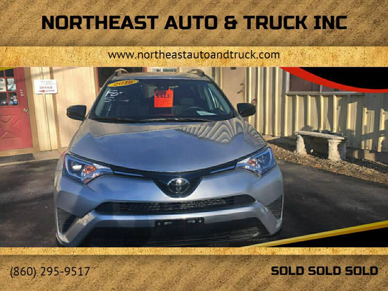 2018 Toyota RAV4 for sale at Northeast Auto & Truck Inc in Marlborough CT