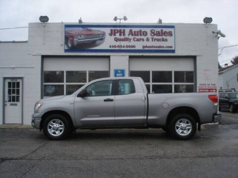 2008 Toyota Tundra for sale at JPH Auto Sales in Eastlake OH