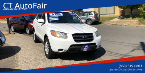 2008 Hyundai Santa Fe for sale at CT AutoFair in West Hartford CT