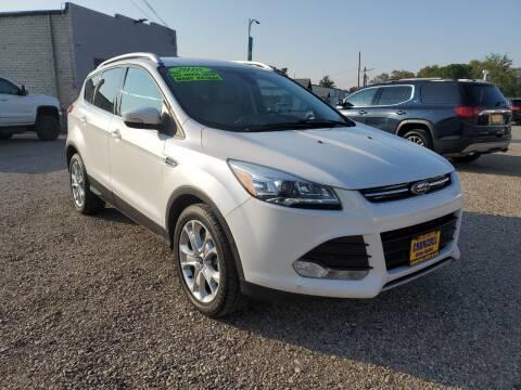 2016 Ford Escape for sale at CHURCHILL AUTO SALES in Fallon NV