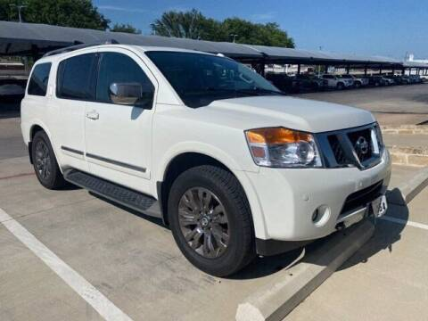 2015 Nissan Armada for sale at Jerry's Buick GMC in Weatherford TX