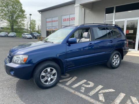 2005 Toyota Highlander for sale at Keystone Used Auto Sales in Brodheadsville PA