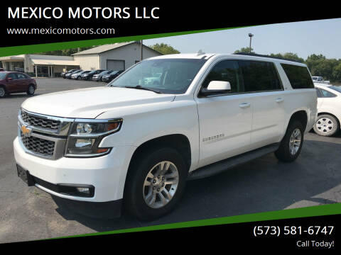 2015 Chevrolet Suburban for sale at MEXICO MOTORS LLC in Mexico MO
