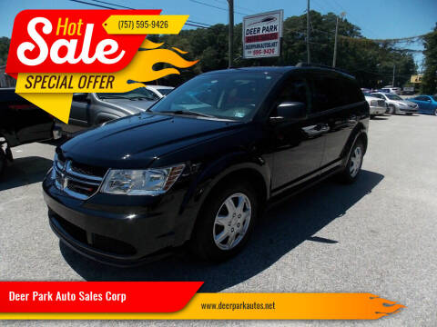 2016 Dodge Journey for sale at Deer Park Auto Sales Corp in Newport News VA
