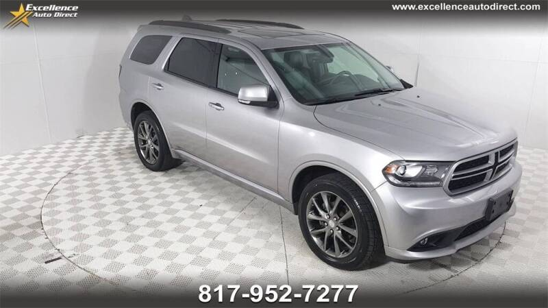 2017 Dodge Durango for sale at Excellence Auto Direct in Euless TX