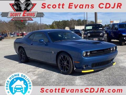 2021 Dodge Challenger for sale at SCOTT EVANS CHRYSLER DODGE in Carrollton GA