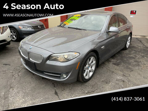 2011 BMW 5 Series for sale at 4 Season Auto in Milwaukee WI