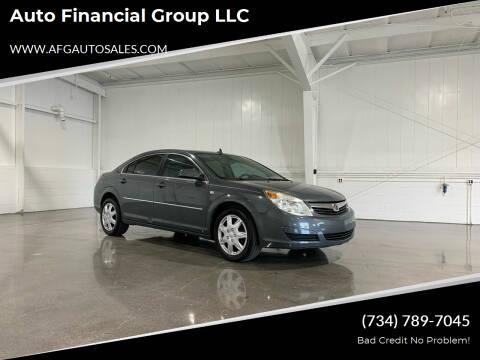 2008 Saturn Aura for sale at Auto Financial Group LLC in Flat Rock MI