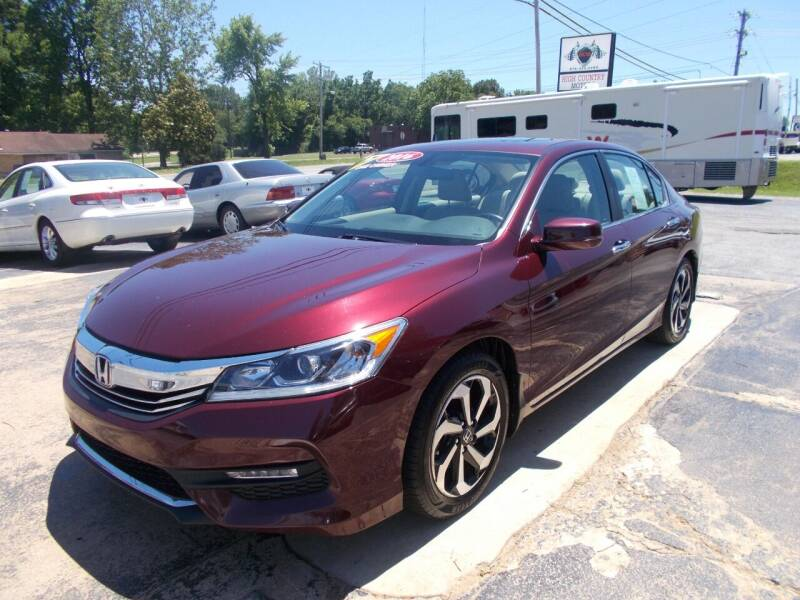 2016 Honda Accord for sale at High Country Motors in Mountain Home AR