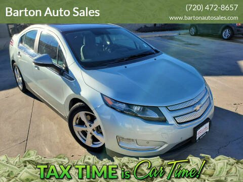 2012 Chevrolet Volt for sale at Barton Auto Sales in Frederick CO