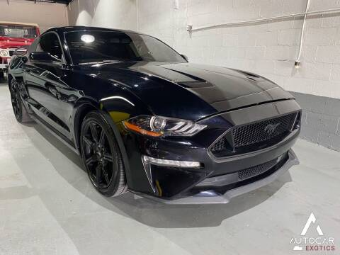 2019 Ford Mustang for sale at AutoCar Exotics in Medley FL