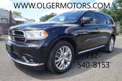 2016 Dodge Durango for sale at Olger Motors, Inc. in Woodbridge NJ