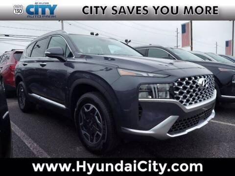2021 Hyundai Santa Fe Hybrid for sale at City Auto Park in Burlington NJ