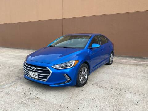 2017 Hyundai Elantra for sale at ALL STAR MOTORS INC in Houston TX