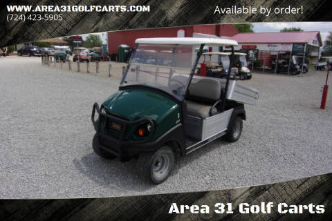 2015 Club Car 500 Utility Dump Cart Carry All Gas 2X4 for sale at Area 31 Golf Carts - Gas Utility Carts in Acme PA