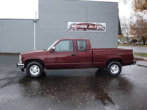 1990 Chevrolet C/K 1500 Series for sale at Motion Autos in Longview WA
