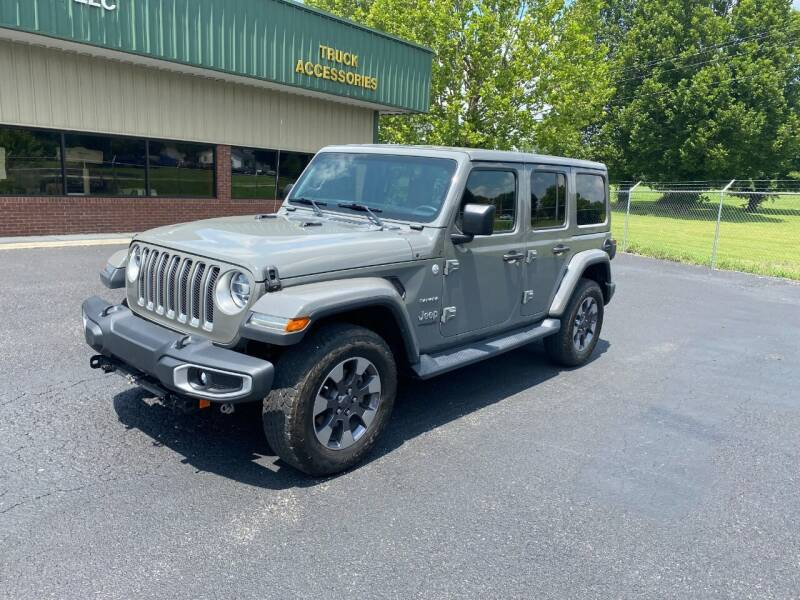 2018 Jeep Wrangler Unlimited for sale at Martin's Auto in London KY
