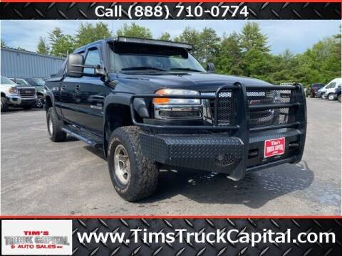 2007 GMC Sierra 2500HD Classic for sale at TTC AUTO OUTLET/TIM'S TRUCK CAPITAL & AUTO SALES INC ANNEX in Epsom NH