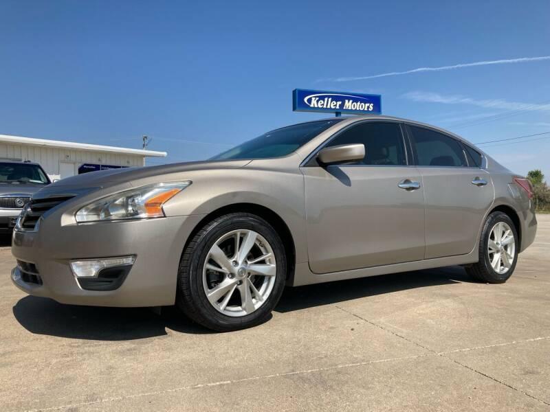 2013 Nissan Altima for sale at Keller Motors in Palco KS