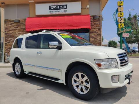 2007 Infiniti QX56 for sale at 719 Automotive Group in Colorado Springs CO