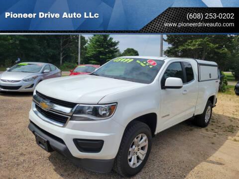 2016 Chevrolet Colorado for sale at Pioneer Drive Auto LLc in Wisconsin Dells WI