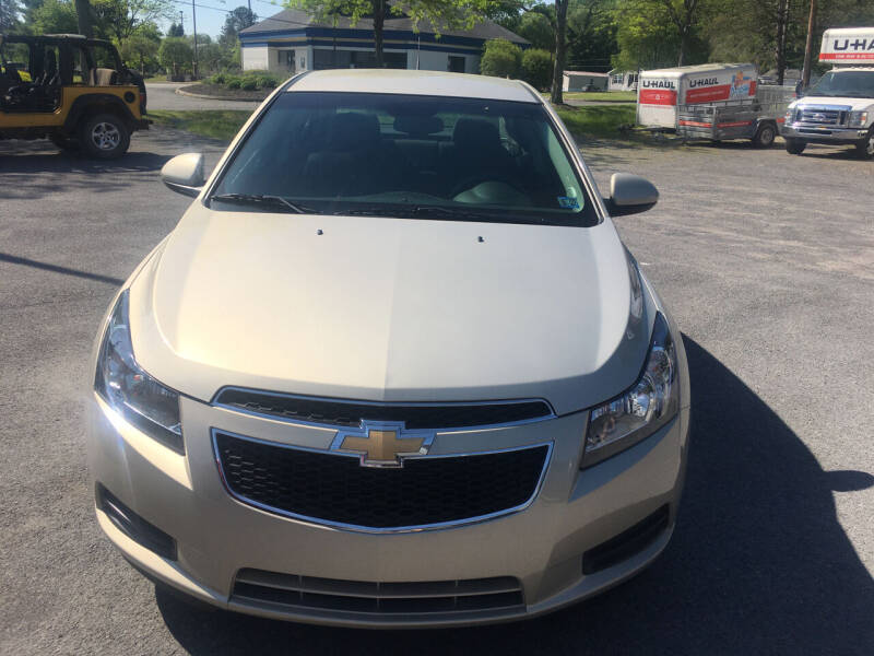 2012 Chevrolet Cruze for sale at K B Motors in Clearfield PA