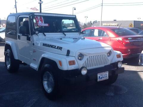 2004 Jeep Wrangler for sale at Lancaster Auto Detail & Auto Sales in Lancaster PA