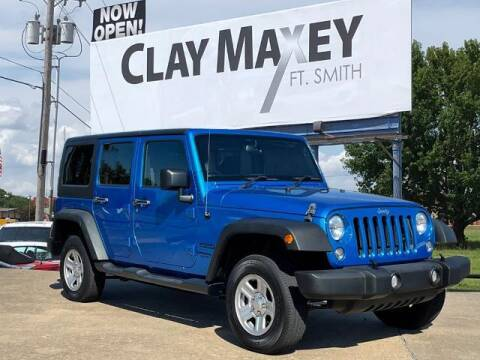 2015 Jeep Wrangler Unlimited for sale at Clay Maxey Fort Smith in Fort Smith AR