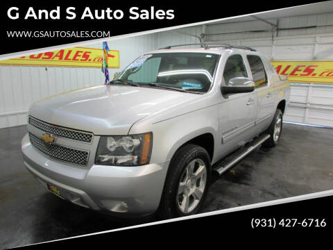 2013 Chevrolet Avalanche for sale at G and S Auto Sales in Ardmore TN