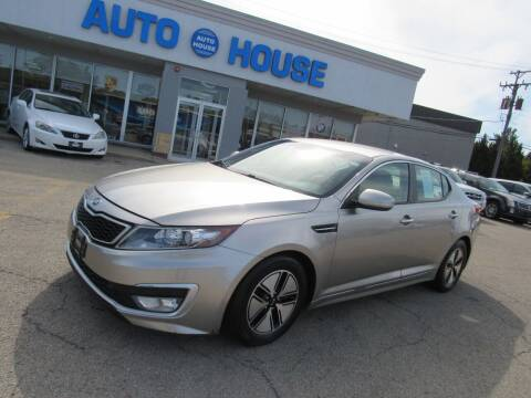 2012 Kia Optima Hybrid for sale at Auto House Motors in Downers Grove IL