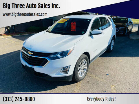 2019 Chevrolet Equinox for sale at Big Three Auto Sales Inc. in Detroit MI