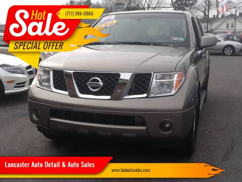 2006 Nissan Pathfinder for sale at Lancaster Auto Detail & Auto Sales in Lancaster PA
