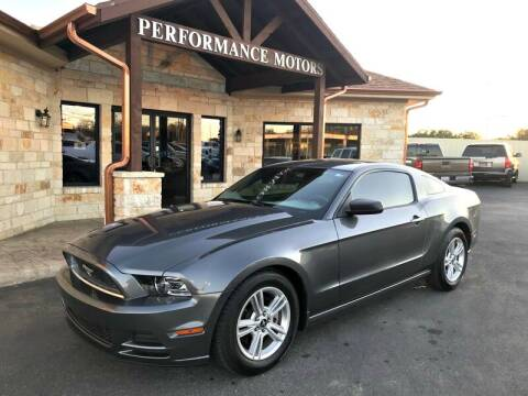 2014 Ford Mustang for sale at Performance Motors Killeen Second Chance in Killeen TX