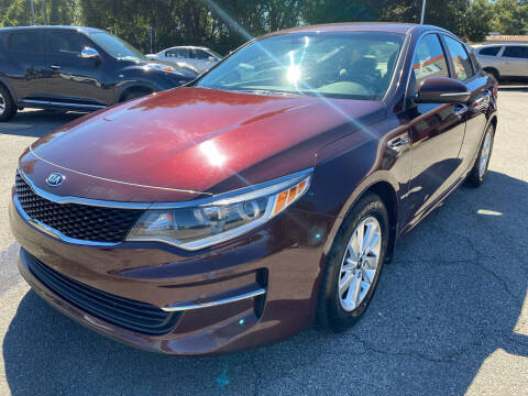 2016 Kia Optima for sale at Capital City Imports in Tallahassee FL