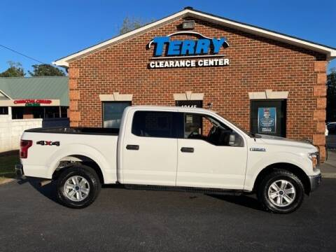 2018 Ford F-150 for sale at Terry Clearance Center in Lynchburg VA
