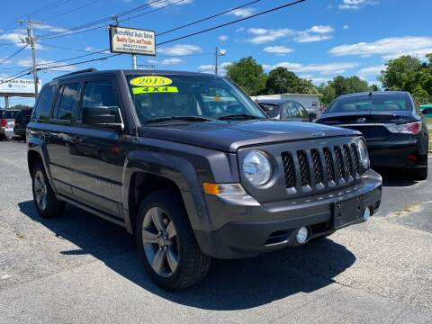 2015 Jeep Patriot for sale at MetroWest Auto Sales in Worcester MA