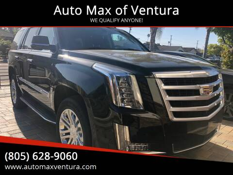 2018 Cadillac Escalade for sale at Auto Max of Ventura in Ventura CA