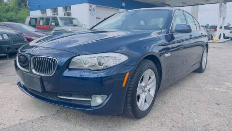 2012 BMW 5 Series for sale at Capital Motors in Raleigh NC