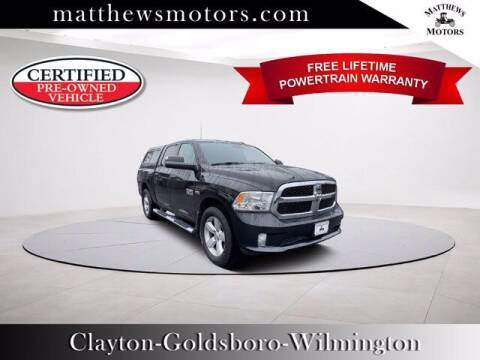 2016 RAM Ram Pickup 1500 for sale at Auto Finance of Raleigh in Raleigh NC