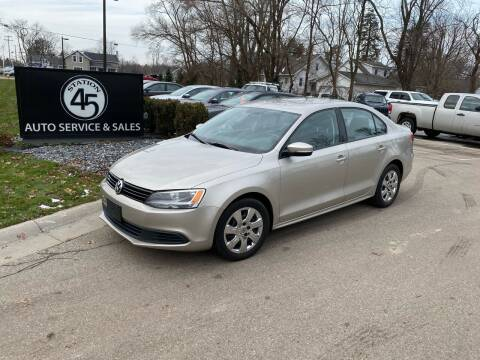 2014 Volkswagen Jetta for sale at Station 45 Auto Sales Inc in Allendale MI