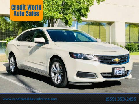 2014 Chevrolet Impala for sale at Credit World Auto Sales in Fresno CA