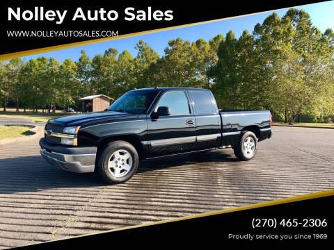 2005 Chevrolet Silverado 1500 for sale at Nolley Auto Sales in Campbellsville KY