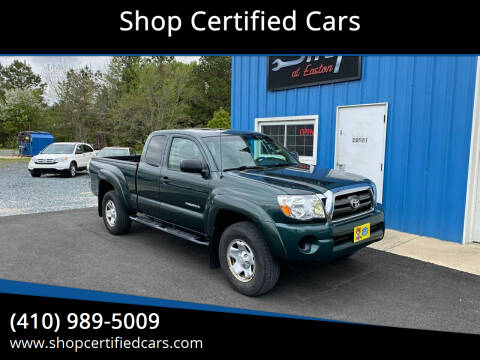 2010 Toyota Tacoma for sale at Shop Certified Cars in Easton MD