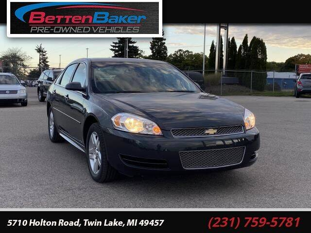 2013 Chevrolet Impala for sale at Betten Baker Preowned Center in Twin Lake MI