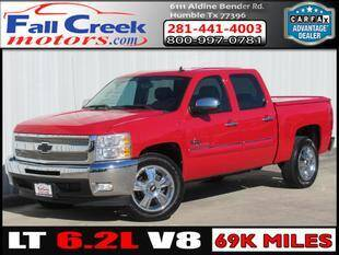 2013 Chevrolet Silverado 1500 for sale at Fall Creek Motor Cars in Humble TX