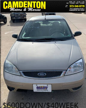 2006 Ford Focus for sale at Camdenton Motors & Marine in Camdenton MO