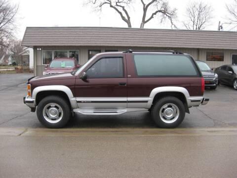 1992 Chevrolet Blazer for sale at Greens Motor Company in Forreston IL