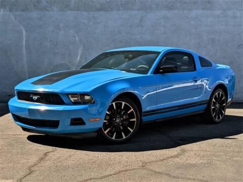 2011 Ford Mustang for sale at Divine Motors in Las Vegas NV